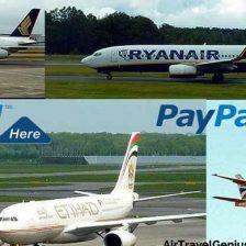 paypal repülőjegy